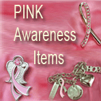 Pink Ribbon Items on SALE!!