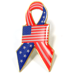American Flag - Ribbon Flag - CLEARANCE !