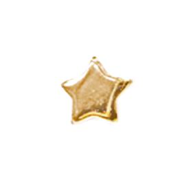 Star - 1/4 inch Gold Star