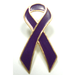 Awareness Ribbon - Purple - STOCK SALE !