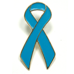 Awareness Ribbon - Light Blue - STOCK SALE !