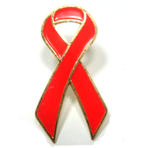 Awareness Ribbon - Red - STOCK SALE !