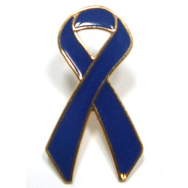 Awareness Ribbon - Dark Blue