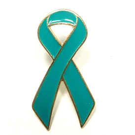 Awareness Ribbon - Teal