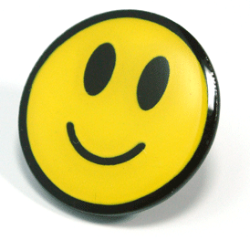 Stock - Smiley Face Pin