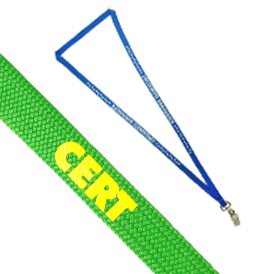 Lanyard - Knitted Polyester