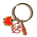 Key Tag - Soft Enamel - Multi-Charm