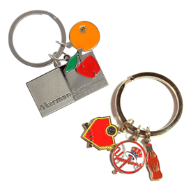 Key Tag - Soft Enamel - Multi-Charm