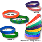 STOCK Awareness Wristbands - CLEARANCE SALE!