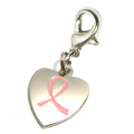 122 Awareness - Charm - Heart - SALE SALE !