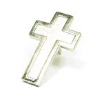 Religious - Cross - Silver -  STOCK SALE !