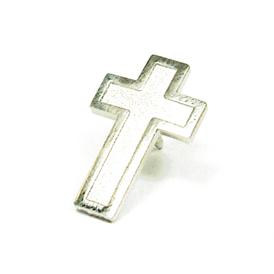 Religious - Cross - Silver