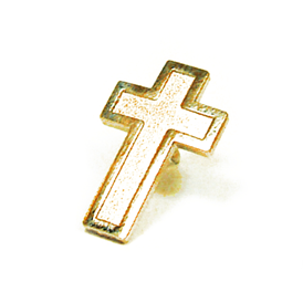 Religious - Cross - Gold