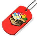 Soft Rubber - Dog Tag