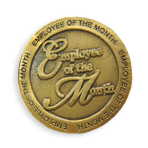 Recognition - Employee of the Month Pin - SALE !