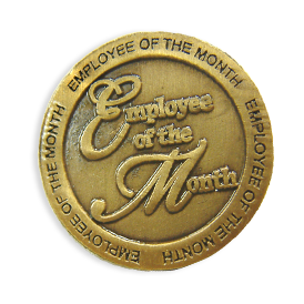 Recognition - Employee of the Month Pin