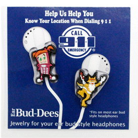 Soft Rubber - Ear Bud-Dees 3D