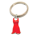 Awareness - Red Dress 3D Key Tag
