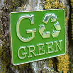 GO GREEN! - Go Green Lapel pin CLEARANCE !