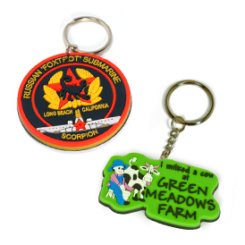 Soft Rubber - Key Tag 2D