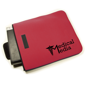 Laptop Sleeve - Velcro Pocket - Neoprene