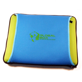 Laptop Sleeve - Two-Way Front Pocket - Neoprene
