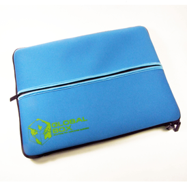 Laptop Sleeve - Middle Zipper Pocket - Neoprene