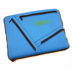 Laptop Sleeve - Tri-Zip Pockets - Neoprene