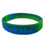 Awareness Wristband - Earth Day -  CLEARANCE SALE