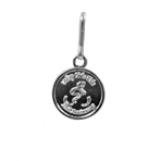 Die Struck 2-Tone - Zipper Pull