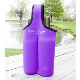 Wine Tote - 2 Bottle - Neoprene