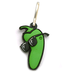 Soft Rubber - Zipper Pull 3D