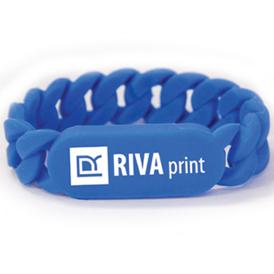 Logo Link Silicone ID Wristband