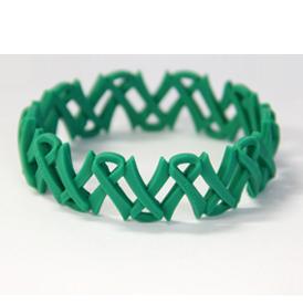 Awareness Wristband Ribbon Link