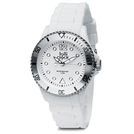 Lolliclock Watch Silver
