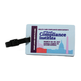 Soft Rubber - Luggage Tag With Back Holder 2D