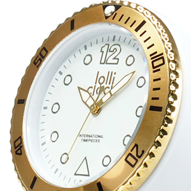 Lolliclock Rock Gold