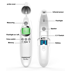 120. Forehead Thermometer, FDA Certified