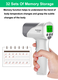 119. Forehead Thermometer FDA